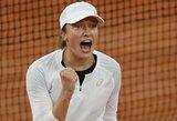 """19-metė lenkė pribloškė pasaulį: sutriuškino pirmąją """"Roland Garros"""" raketę"""