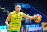 Š.Jasikevičius prisidėjo prie Lietuvos vyrų krepšinio rinktinės, o D.Motiejūno šiemet nebus