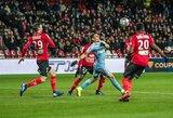 """Dviejų įvarčių pranašumą iššvaistęs """"Monaco"""" klubas krito Prancūzijos taurės pusfinalyje"""