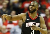 """Ch.Paulas agituoja """"Rockets"""" įsigyti C.Anthony"""