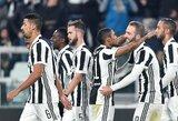 """Italijoje - sunki """"Juventus"""" pergalė prieš lygos vidutiniokus"""