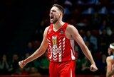 """""""Crvena Zvezda"""" prieš dvikovą su """"Žalgiriu"""" panaikino 21 taško deficitą ir laimėjo paskutinę sekundę"""