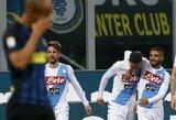 """""""Napoli"""" pratęsė """"Inter"""" pergalių sausrą"""