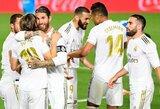 """""""Real"""" ir toliau neleidžia """"Barcelonai"""" nutolti: sutriuškino """"Valencia"""" futbolininkus"""