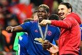 """Z.Ibrahimovičius patarė """"Manchester United"""" parduoti P.Pogbą"""