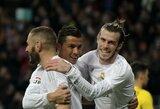 """K.Benzema džiaugiasi C.Ronaldo išvykimu: """"Dabar galiu iš tikrųjų žaisti futbolą"""""""