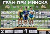G.Serafinas Minske iškovojo sidabro medalį