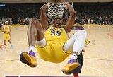 NBA krepšininkas pranešė apie netinkamą D.Howardo elgesį burbule