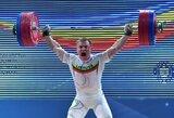Klaipėdietis Ž.Stanulis – absoliutus Lietuvos sunkiosios atletikos čempionas