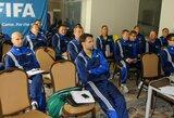 Pirmuose salės futbolo teisėjų kursuose – garsaus italų teisėjo patirtis