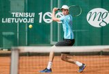 """Prestižiniame """"Master"""" jaunučių teniso turnyre A.Sabaliauskas įveikė V.Gaubą"""