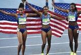 100 metrų barjerinio bėgimo visus medalius iškovojo JAV sportininkės (atnaujinta)