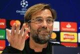 """J.Kloppas nusiteikęs rimtai kovai su """"Manchester City"""": """"Turėsime prieš juos žaisti daug geriau, jeigu norime turėti šansą laimėti"""""""
