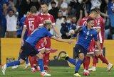 5 įvarčius praleidusi Lietuvos rinktinė pasaulio čempionato atrankoje patyrė skaudų pralaimėjimą prieš italus