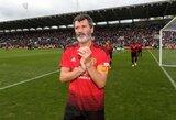 """Laikus """"Man Utd"""" klube prisiminęs R.Keane'as: """"Mano darbas buvo iškovoti titulus"""""""