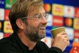 """G.Wijnaldumas atskleidė paprastą žinutę, kuria J.Kloppas įkvepia """"Liverpool"""" kovoti dėl titulo"""