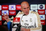 """Z.Zidane'as prieš laukiantį """"El Clasico"""" mūšį prašo fanų palaikymo: """"Šiuo metu situacija yra sudėtinga"""""""