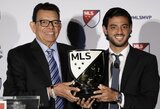 Z.Ibrahimovičių aplenkęs C.Vela tapo MLS lygos MVP