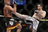 Buvęs UFC čempionas F.Griffinas supranta, kad nėra geriausias, bet karjeros baigti neketina