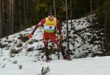 Europos biatlono čempionate – įspūdingas K.Dombrovskio šuolis į viršų