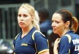 Lietuvos moterų stalo teniso rinktinės svajonė vėl neišsipildė