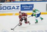 """N.Ališauskas susistumdė su ilgamečiu NHL žaidėju, """"Dinamo"""" išplėšė ilgai lauktą pergalę"""