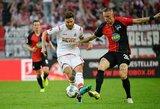 """Antrą pergalę iš eilės iškovojusi """"Hertha"""" pakilo į pirmąjį Vokietijos dešimtuką"""