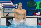 Driokstelėjo: D.Rapšys antrąjį aukso medalį pažymėjo Lietuvos rekordu!