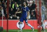 "C.Fabregasas: ""100 % kitą sezoną save matau ""Chelsea"" klube"""