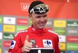 To nebuvo 39 metus: C.Froome'as laimėjo antras didžiąsias metų lenktynes iš eilės