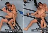 Po 5 sekundžių nokauto į UFC narvą grįžęs B.Askrenas patyrė antrą pralaimėjimą iš eilės