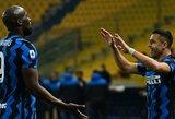 "A.Sanchezo dublis padovanojo ""Inter"" pergalę prieš ""Parma"""