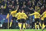 """Čempionų lyga: """"Atletico"""" sutriuškinę """"Borussia"""" tapo A grupės lyderiais"""