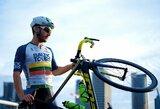Europos triatlono taurės sprinte Lietuvos atstovas pasiekė finišą, du lyderius skyrė mažiau nei sekundė