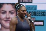 Prestižinio turnyro Kanadoje finalą S.Williams baigė su ašaromis akyse: pasitraukė vos po 19 minučių