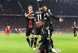 """""""Bayern"""" namuose nesugebėjo įveikti dešimtyje rungtyniauti likusių """"Bayer"""" futbolininkų"""