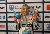 R.Meilutytė praleis Europos plaukimo čempionatą