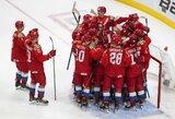 Kanadoje prasidėjusiame pasaulio jaunimo ledo ritulio čempionate –Rusijos nutrauktas pergalių badas prieš JAV