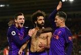 """Titulo medžioklė tęsiasi: pirmąjį rungtynių įvartį praleidęs """"Liverpool"""" nugalėjo """"Southampton"""""""