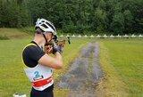 Stipriausi šalies biatlonininkai dėl čempiono titulo varžėsi Ignalinoje