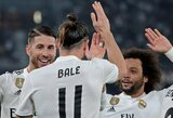"""FIFA pasaulio klubų taurė: tris įvarčius pelniusio G.Bale'o vedami """"Real"""" pateko į finalą"""