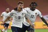UEFA Tautų lyga: Italijos rinktinė minimaliu rezultatu įveikė olandus