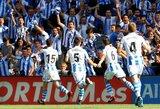 """Ankstyvą įvartį praleidęs """"Real Sociedad"""" klubas išvykoje susitvarkė su """"Levante"""""""