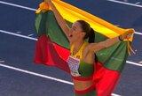 Trišuolininkė D.Zagainova iškovojo Europos U23 čempionato auksą!