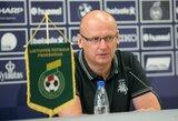 V.Urbonas: apie pasirinktą futbolo rinktinės sudėtį ir laukiančius iššūkius