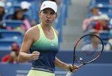 WTA vienetų reitinge S.Halep aplenkė M.Šarapovą, lietuvių pozicijos toliau prastėja