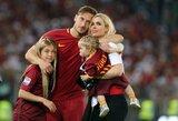 """Oficialu: F.Totti patvirtino, kad futbolo daugiau nežais, bet liks dirbti """"Roma"""" klube"""