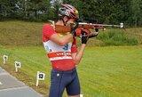 Pasaulio vasaros biatlono čempionato starte geriausiai sekėsi V.Stroliai