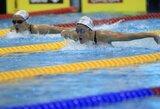 V.Gimbutytė pateko į Europos plaukimo čempionato pusfinalį