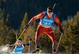 Lietuvos biatlonininkai artėja prie dviejų kelialapių į žiemos olimpiadą
